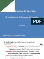 Comunicacion de Servicios