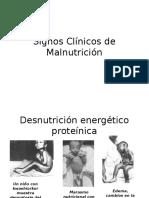 Signos Clínicos de Malnutrición (1)