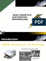 ESD Basics Presentation