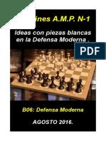 1 Ideas Con Piezas Blancas en La Defensa Moderna