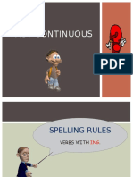 Past Continuous Spelling Rules