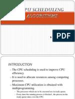 Cpuschedulingalgorithm-Naresh Kumar