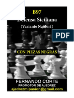62 B97 D.siciliana v.najdorfCON NEGRAS
