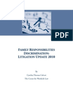 Family Responsibilities Discrimination