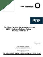 255400402R9.6.3.3_V1_Lucent Gateway Platform PlexView Element Management System (EMS) Release 9.6.3.3 Software Release Notice.pdf