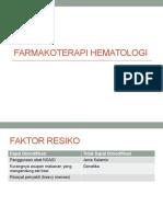 FARMAKOTERAPI HEMATOLOGI