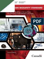 Canadian Biosafety Standard-Eng