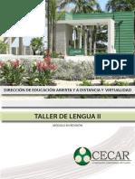 Taller de Lengua II-taller de Lengua II