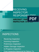 Receiving Inspections Power Point