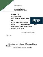 Protocolo Clínico Primera Parte