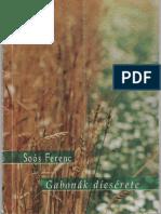 Soós Ferenc Gabonák Dícsérete-egyoldalas