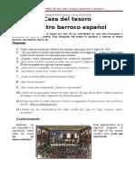 Caza Del Tesoro Barroco 3º ESO
