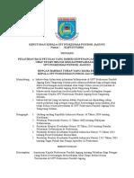 8.2.2.3 Sk Tentang Pelatihan Bagi Petugas Yang Diberi Kewenangan Menyediakan Obat Tetapi Belum Sesuai Persyaratan