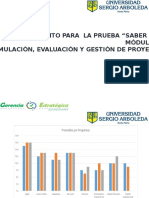 Modulo Formulacion, Gestión y Evaluación de Proyectos