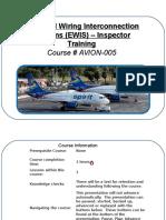 EWIS - Inspection