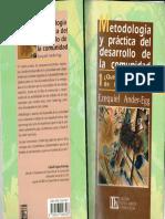 Metodologia y Practica Del Desarrollo de La Comunidad Tomo I