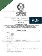 Agenda 06/16/2010