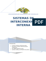 Sistema de Interconexion Interna
