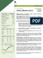 Graña y Montero - Resultados 3T2016