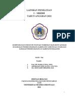 Komposisi Dan Struktur Vegetasi Mangrove Asosiasi Di Kawasan Pesisir Kwandang Kab Gorontalo Utara Dan Kawasan Pesisir Mananggu Kab Boalemo