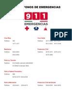 # Emergencias