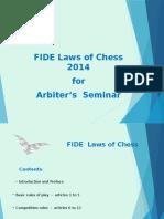 Fide Laws 2014
