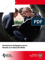 Documento 14. Orientaciones para la enseñanza de la Filosofía.pdf