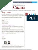 Tecniche Di Base Per Gelati Cremosi e Alla Frutta - Corriere Della Sera