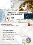 1.0 Lecture 1 Overview Linked Data