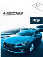 Mazda3 Owner's Manual 8DB9-EE-13K 1 OM