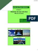 EIQ 242 20162 3 Sistemas de Una Sola Fase c) Mezcla de Gases