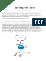 Basic Configuration Tutorial