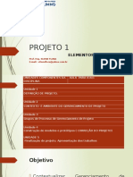 PROJETO 1 - 015 -2