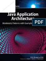 Java Application Architecture- Modularity Patterns With Examples