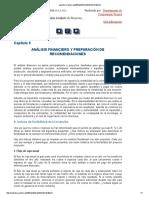 Análisis Financiero y Preparación de Recomendaciones Fao