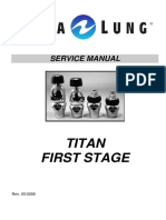 Aqua Lung Titan First Stage Service Manual