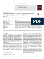 Development of Halpin-Tsai Model for Polymer Nanocomposites