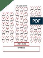 Third Quarter Seat Plan