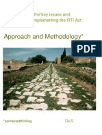 RTI methodology PWC DOPT