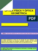 Metrologia Optica. Fisica y Geometrica