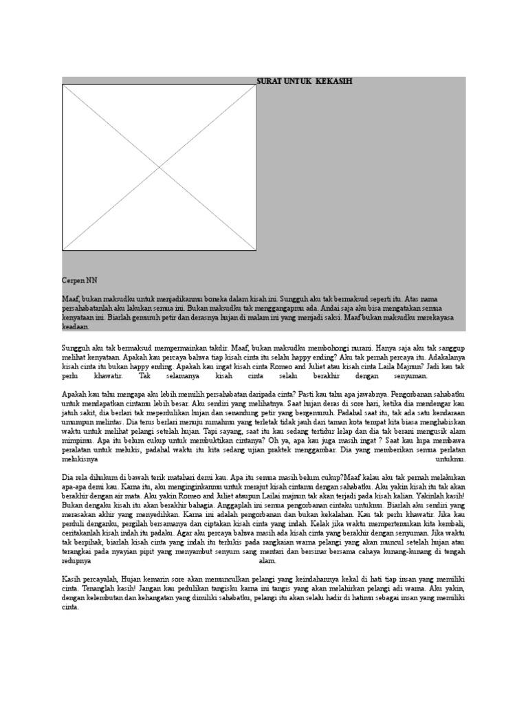 Surat Untuk Kekasih Docx