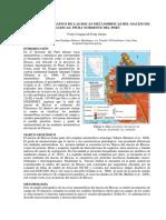 Estudio Petrográfico de Las Rocas Metamórficas Del Macizo de Illescas Piura Noroeste Del Perú