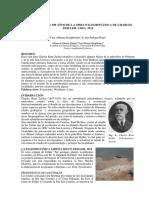 Homenaje a Los 100 Años de La Obra Paleobotánica de Charles Zeiller. Lima, 1914