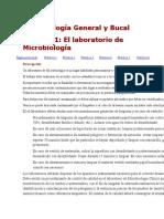 Microbiología General y Bucal