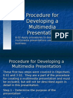 presentation procedures