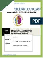 EVALUACION Y REANIMACIÓN imprimir.doc