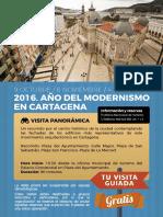 Visitas Guiadas Oct.nov Dic Modernismo 2016