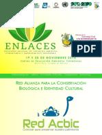 Encuentro Nacional de Liderazgo Ambiental Comunitario y Emprendimiento Sostenible -ENLACES-