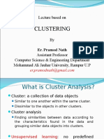 Class on Clustering