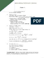 Engineering Hydrology - Solution Manual - 3rd Edition - K. Subramanya